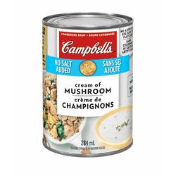Campbell's Crème de champignons sans sel