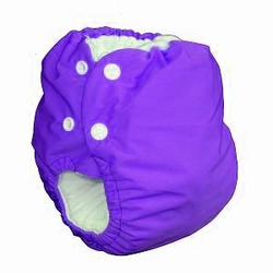 Knickernappies 2G Pocket Diapers - Large - Violet