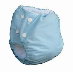 Knickernappies 2G Pocket Diapers - Large - Baby Blue