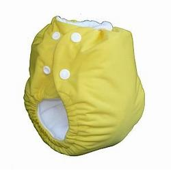 Knickernappies 2G Pocket Diapers - Large - Yellow