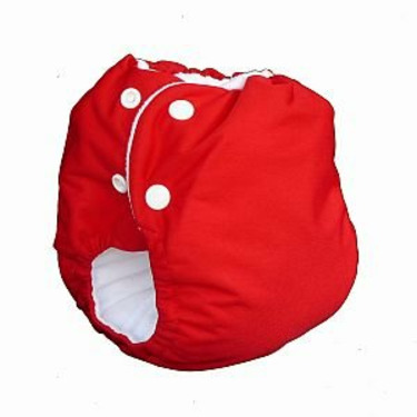 Knickernappies 2G Pocket Diapers - Large - Red