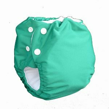 Knickernappies 2G Pocket Diapers - Small - Green