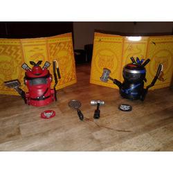 Ninja Bots Hilarious Battling Robots - 2-Pack