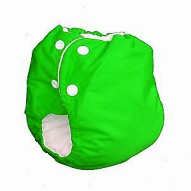 Knickernappies 2G Pocket Diapers - Medium - Spring Green