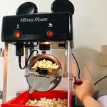 disney mickey mouse kettle-style popcorn popper
