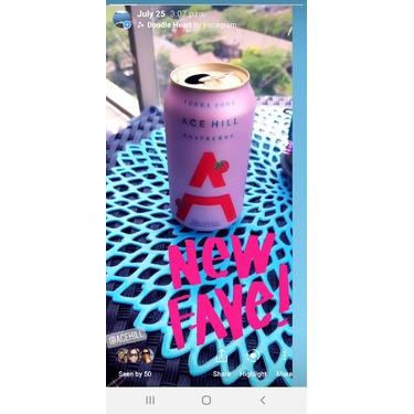 Ace Hill Raspberry Vodka Soda