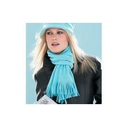 Warm scarf and gloves (aqua)