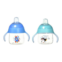 Philips Avent My Little Sippy Cup, 7oz, 2 pack, Teal and Blue