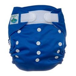 Tiny Tush Elite One-Size Cloth Diaper Aplix (Velcro-type) Saturn BLUE
