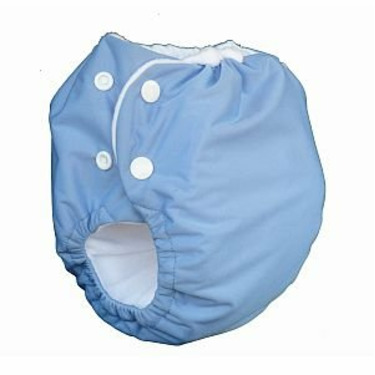 Knickernappies 2G Pocket Diapers - Large - Periwinkle