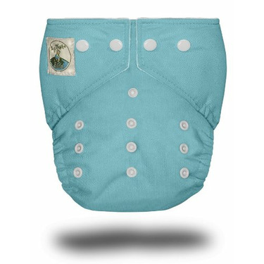 Tiny Tush Elite One-Size Cloth Diaper Snap BABY BLUE [Health and Beauty]