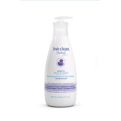 Live clean baby serenity wash