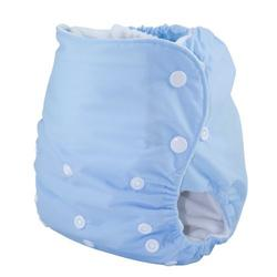 Knickernappies One Size Pocket Diaper with LoopyDo Inserts - Baby Blue
