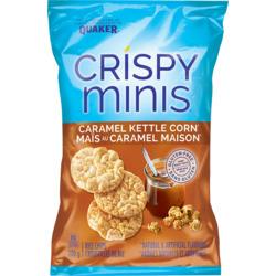 Quaker Cripsy Minis Caramel Kettle Corn