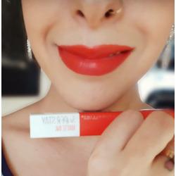 Maybelline lipstick Heroine