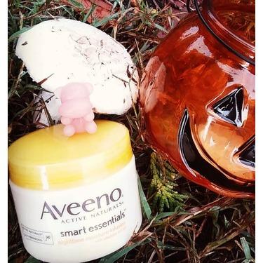 Aveeno smart essentials nighttime moisture infusion with vitamins