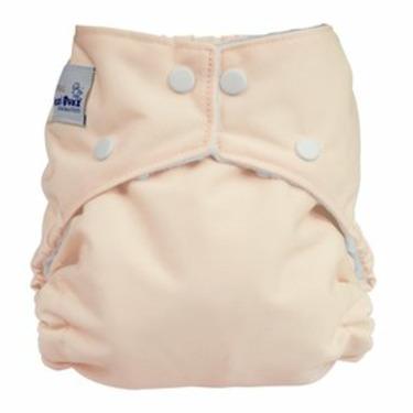Fuzzi Bunz Cloth Pocket Diaper BABY PINK - Large
