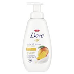 Dove Instant Foaming Body Wash Glowing Mango Butter
