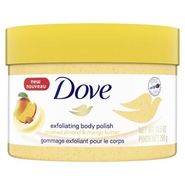 Dove Mango & Almond Butter Exfoliating Body Polish
