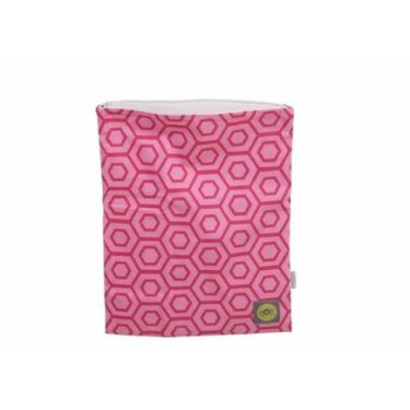 ZIPPERED WET BAGS HOLLYWOOD PINK