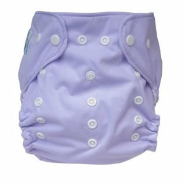 Tiny Tush Elite One-Size Cloth Diaper Aplix (Velcro-type) LILAC