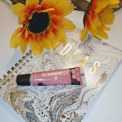 Burt's Bees flushed blush lip gloss