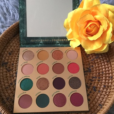 Colourpop eyeshadow palette- Through my eyes