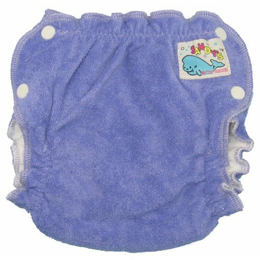 Mother-ease Sandy's Cloth Diaper (Small, Purple)