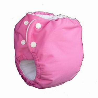 Knickernappies 2G Pocket Diapers - Medium - Raspberry Pink