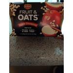 Delmonte fruit & oats snacks