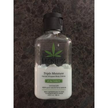 Hempz herbal moisturizer lotion, triple moisture