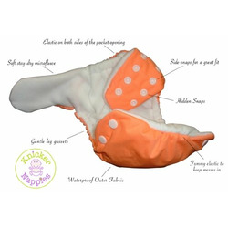 Knickernappies 2G Pocket Diapers - Large - Lavender