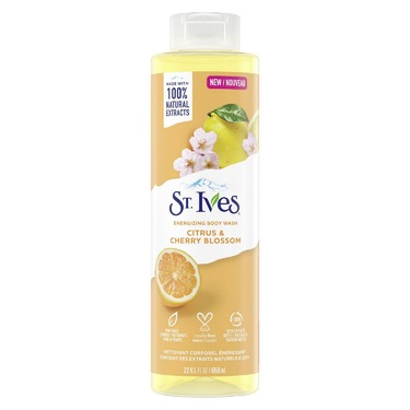St. Ives Energizing Citrus and Cherry Blossom Body Wash