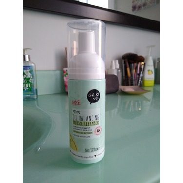 Oh K oil balancing mousse cleanser