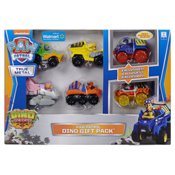 PAW Patrol True Metal Dino Gift Pack, 6 Collectible Die-Cast Vehicles