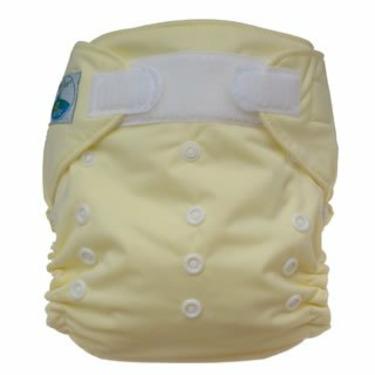 Tiny Tush Elite One-Size Cloth Diaper Aplix (Velcro-type) BUTTER