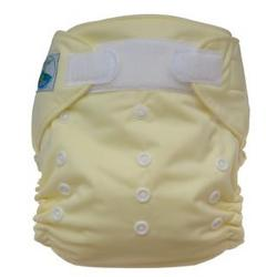 Tiny Tush Elite One-Size Cloth Diaper Aplix (Velcro-type) BUTTER
