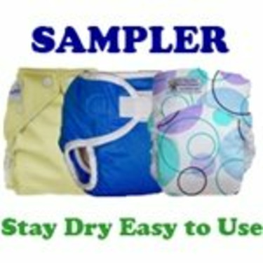 Stay Dry Easy to Use Cloth Diaper Sampler
