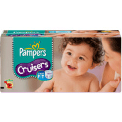 Pampers Cruisers Dry Max Diapers, Size 4, 140-Count