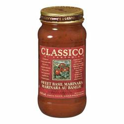 Classico sweet basil marinara sauce