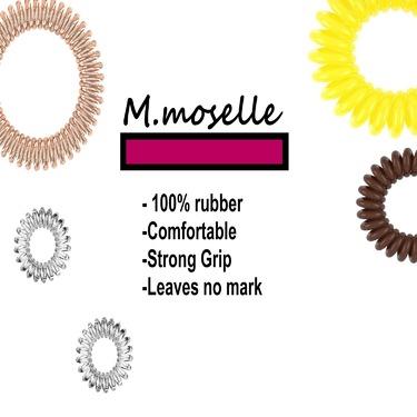 Madammoselle Women's Pure Rubber Elastics