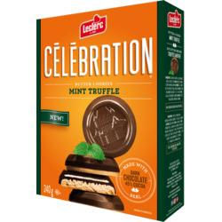 Celebration Mint Truffle Butter Cookies