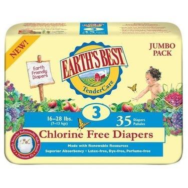 Earth's Best TenderCare Chlorine Free Diapers