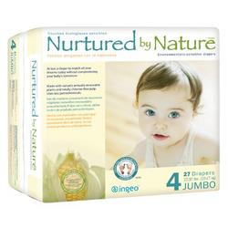Nurtured by Nature Environmentally-Sensitive Diapers, Large Size 4, 22-37 Pounds (108 Diapers)
