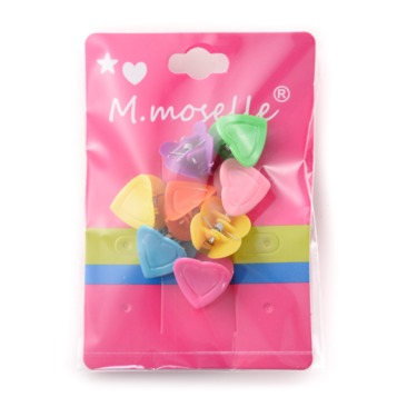 Madammoselle Kids Mini Love Shaped Hair Claws