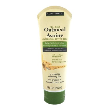 nubalance skin relief oatmeal daily moisterizing lotion