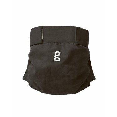 Gdiapers Little Gpant, Grubby Knees, Gray, Medium (13-28 Pounds)