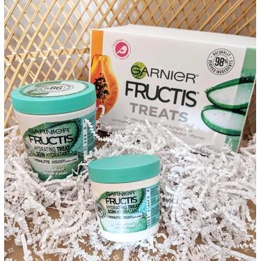 Garnier Fructis Hydrating Hair Treat 1 Minute Hair Mask Aloe Extract