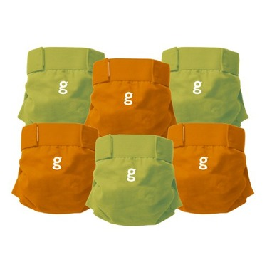 Gdiapers Everyday G's, Small, 6-Count