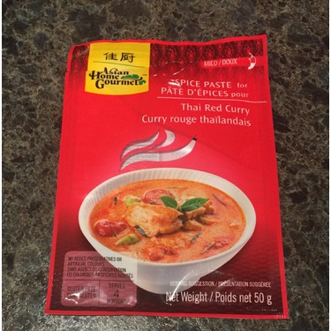 Asian Home Gourmet Thai Red Curry Paste